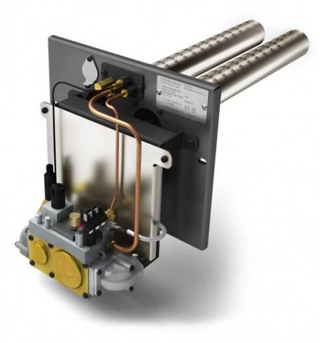 Газовая горелка «Сахалин-2», 26 кВт, (дополнение к банной печи)