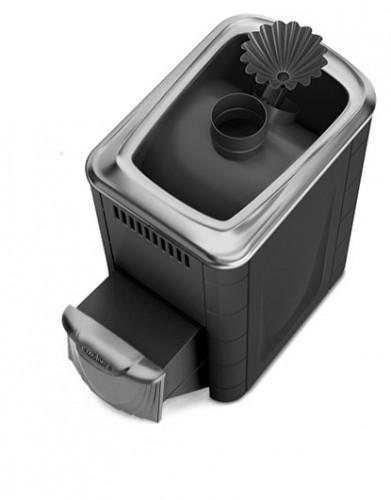Банная печь Ангара 2012 Carbon ДН ЗК антрацит (Термофор)