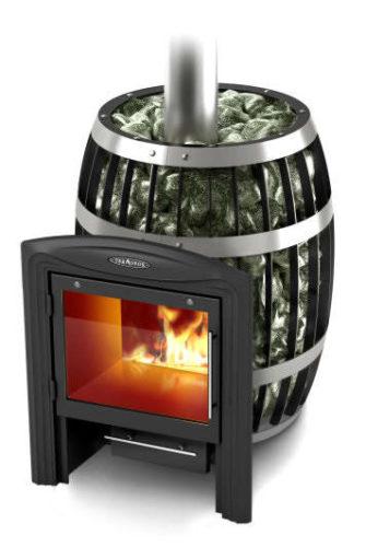 Банная печь Саяны Inox Витра (Термофор)