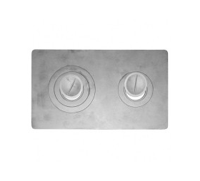 Плита 2х-конфорочная П2-3 (Б) 710х410