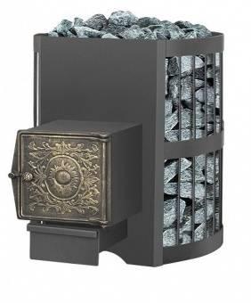 Печь банная Везувий Оптимум стандарт 14 дверка ДТ — 3