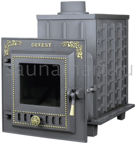 Чугунная Банная Печь «Гефест» ПБ-04М
