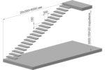 картинка для раздела расчёт металлической лестницы чертёж